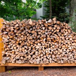 Bulk redgum firewood for sale
